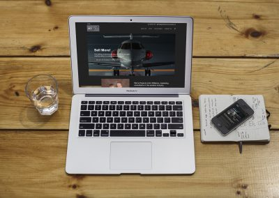 Aviation Sales Training Website Project