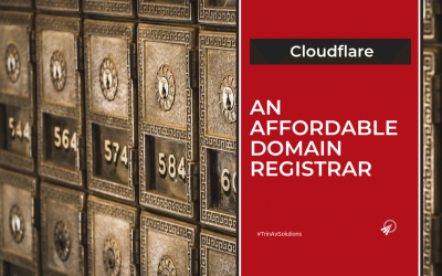 Cloudflare, An Affordable Domain Registrar